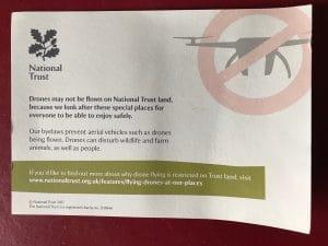 National Trust, Drone School Uk
